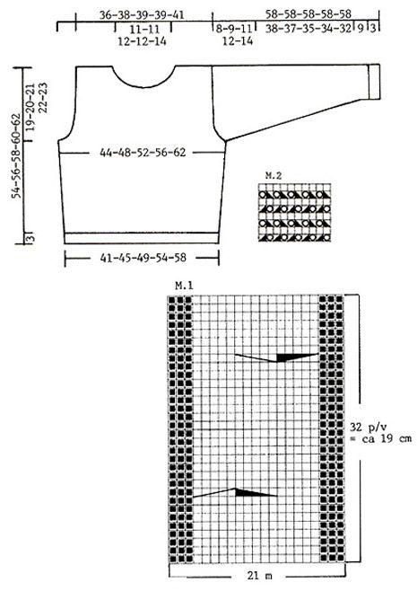 """DROPS 80-6 - DROPS Trui met kabels van """"Karisma Superwash"""" en """"Vivaldi"""". Maat S - XXL. Sjaal met ajourpatroon van """"Vienna"""" - Free pattern by DROPS Design"""
