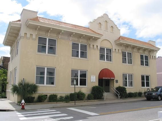 Pensacola Museum of Art. Located in historic downtown Pensacola, the Pensacola Museum of Art is the only museum accredited by the American Association of Museums between Mobile, AL and Tallahassee, FL.