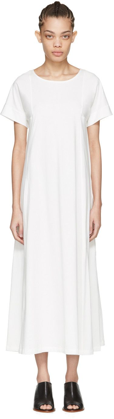 Lemaire - White T-Shirt Dress