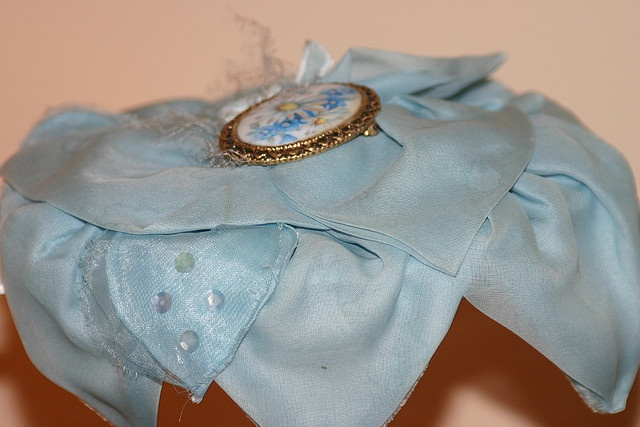 Blue vintage hat: Photo