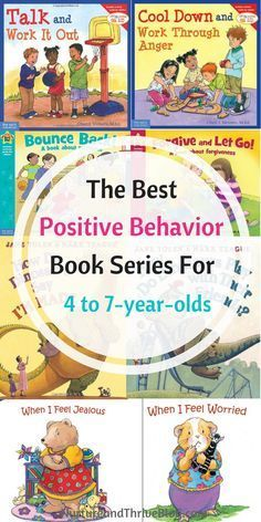 Change your child's behavior with books! The best Positive Behavior Book Series for 4 to 7-year-olds. Great resources for parents from Ashley Soderlund Ph.D. via @nthrive