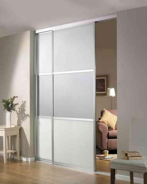 séparation pièce : idée avec portes coulissantes Ikea