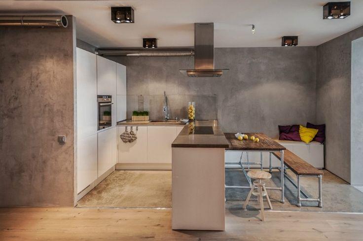farbe in der küche – 30 ideen für wandfarben und fronten