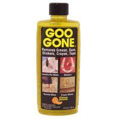 How To Make Homemade Goo Gone D I Y Pinterest Homemade Goo Homemade And Goo Gone