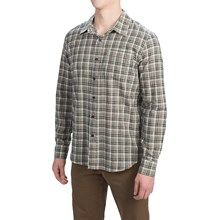 Gramicci Madras Shirt - Long Sleeve (For Men) in Ice Blue - Closeouts