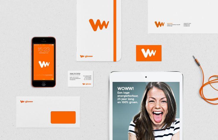 Gloww - Huisstijl   by Skinn Branding Agency