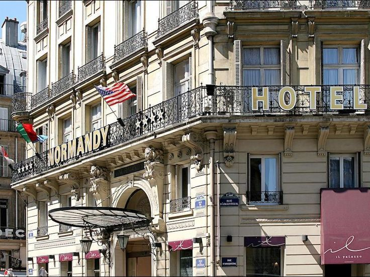 Paris Normandy Hotel France Europe Located In 1st Louvre Châtelet
