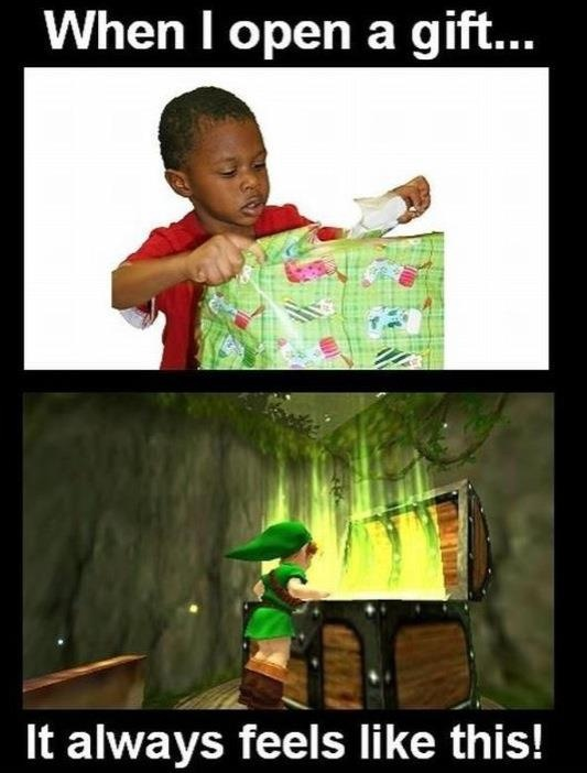 When you open a gift... Best of #Videogames