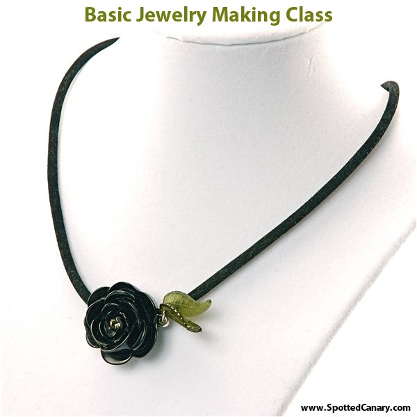 Basic Jewelry Making Online Jewelry Class on Spotted Canary