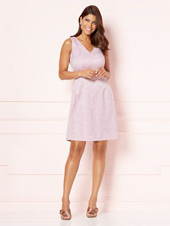 Shop Eva Mendes Collection - V-Neck Maria Dress . Find your perfect size online at the best price at New York & Company.
