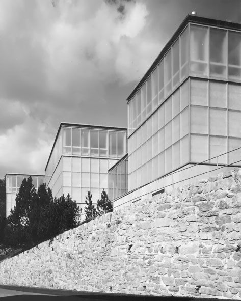 Gigon & Guyer - Kirchner museum, Davos 1992. Photos © Heinrich Helfenstein, Stefan Jaeggi.