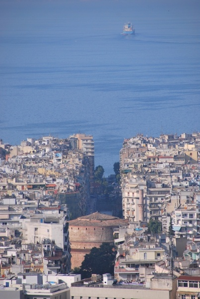 Really cool view in Thessaloniki