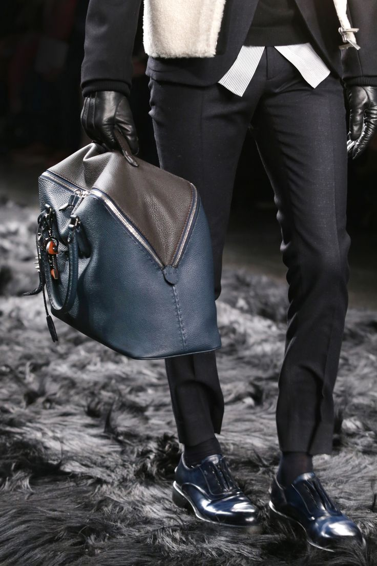Fendi Men's Fall/Winter 2014-15 Collection Close Up 25