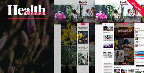 cool HealthMag - Multipurpose News/Magazine WordPress Theme (Weblog / Magazine)