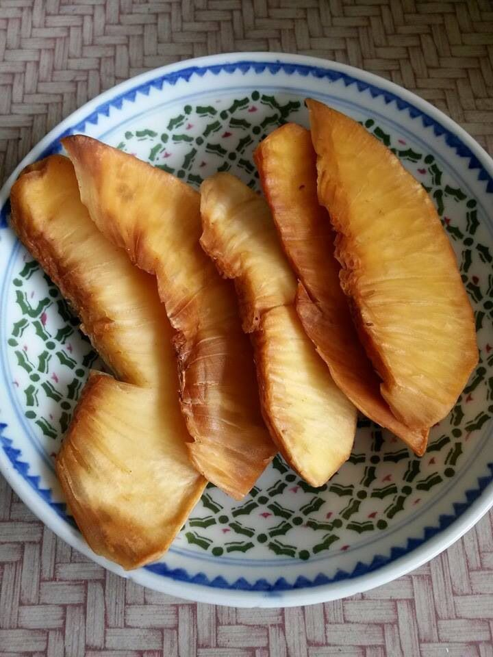 Sukun Goreng. Fried bread fruit.