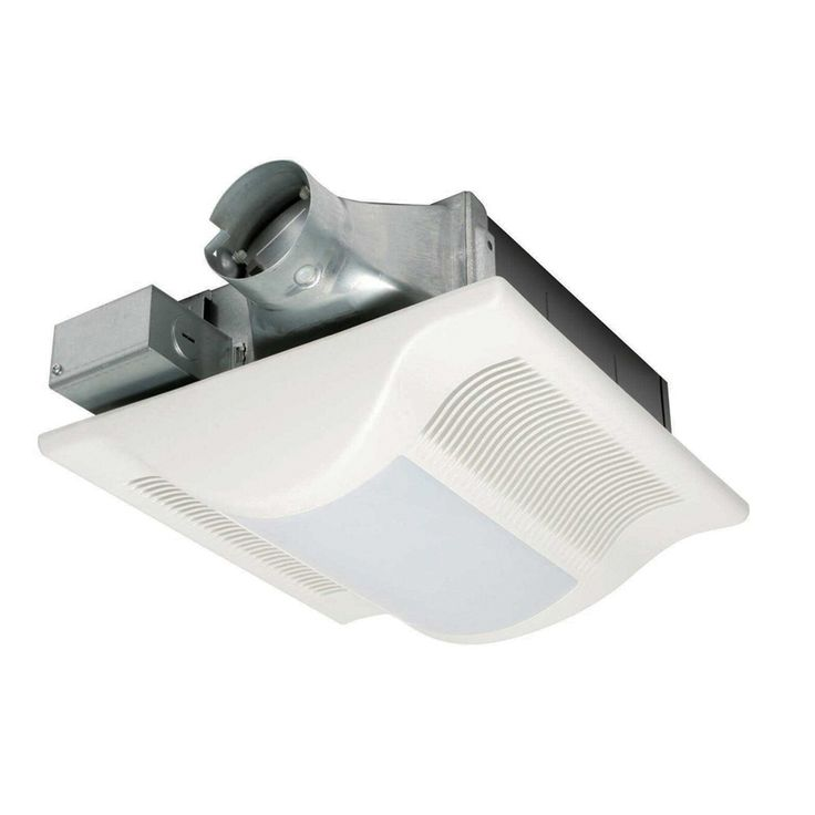Shop Broan 3 5 Sone 70 Cfm Satin Nickel Bathroom Fan With: 1000+ Ideas About Bathroom Fans On Pinterest