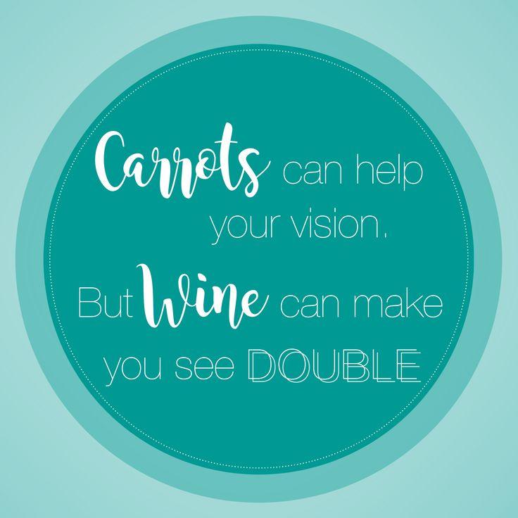 Ein kleiner Tipp für die nächste Einkaufsliste ;) #wine #quote #spruch #food #carrots #weekend #wein