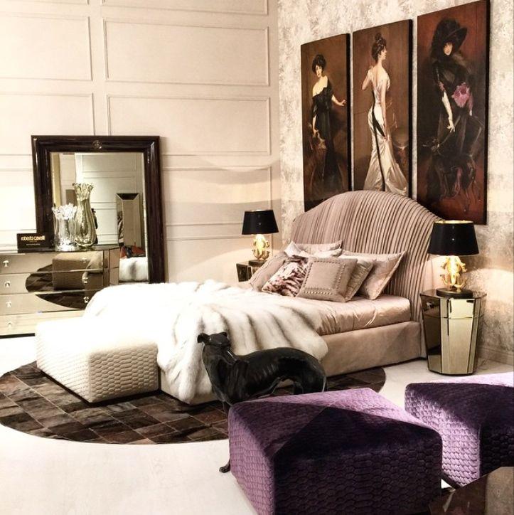 ROBERTO CAVALLI HOME Australia Sharpei Bed #palazzocollezioni #robertocavalli Robertocavallihome #bed