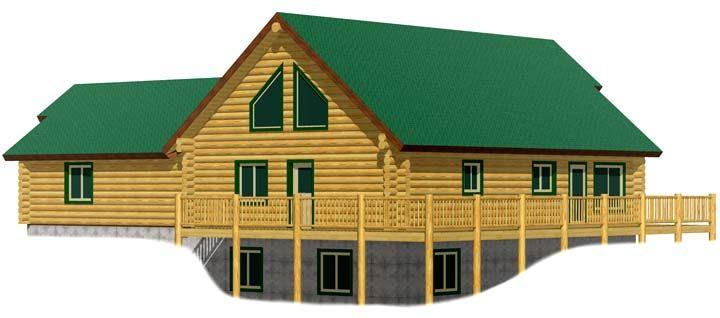 Aspen log home kit prices