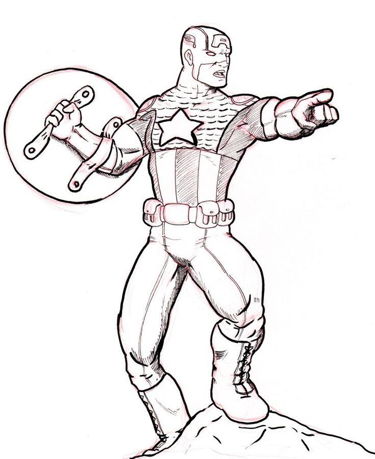 Superheroes para imprimir y colorear - Imagui