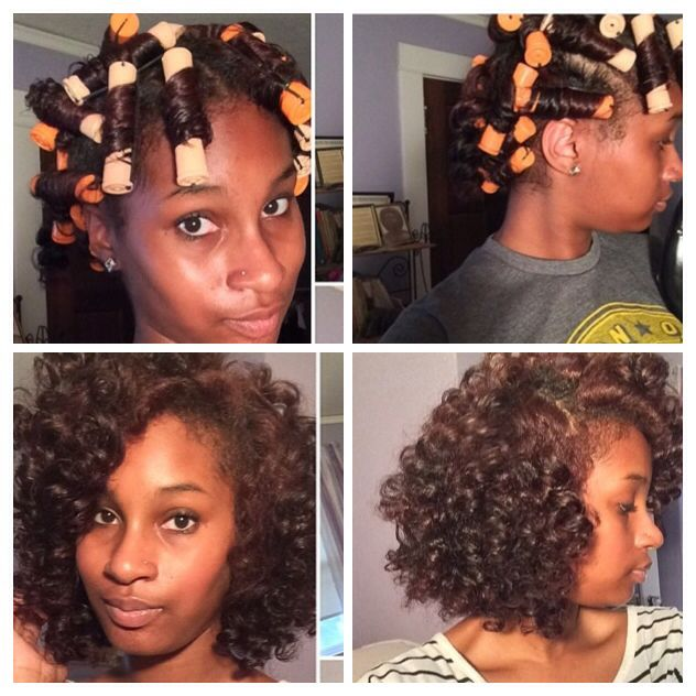 Awesome Perm Rod Set By @beautifulroots on IG