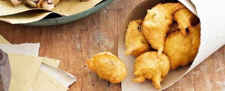 coculli fritti di farina di ceci