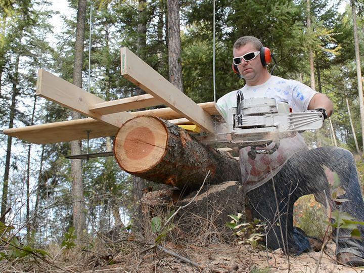diy homemade chainsaw mill - alaskan chainsaw mill