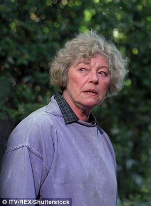 Rosemary Leach as Helen Baxendale in ITV's An Unsuitable Job For A Woman, in 1997