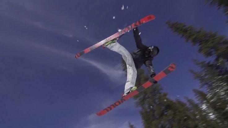 See John Brown shredding the rails and flipping some tricks in Utah's Brighton Ski resort. #kulkea