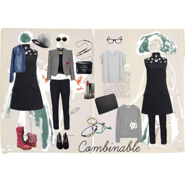 """combinable"" by naughtystylishsoul on Polyvore"