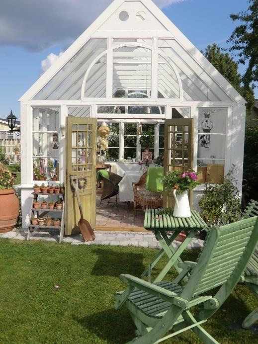 Greenhouse Isas Trädgård: Växthusinspiration