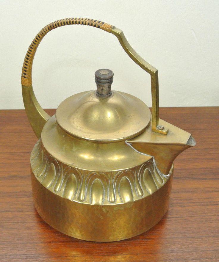 WMF - Straußenmarke - Teekessel - Wasserkessel - Art Deco - Teakettle