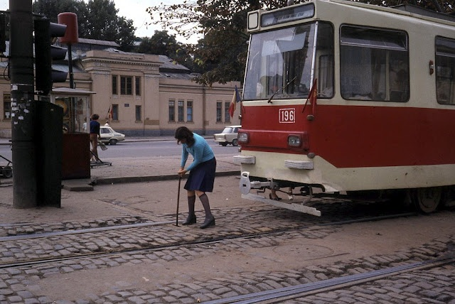 Bucharest trams in 1982