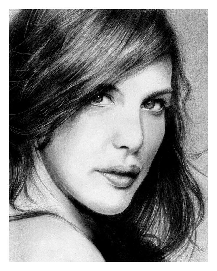 Best Portreti Images On Pinterest Amazing Art Colored - Amazing hyper realistic pencil drawings celebrities nestor canavarro