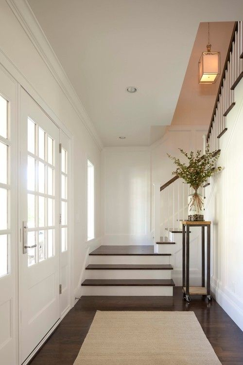 Georgiana Design. Love this stair and entry.