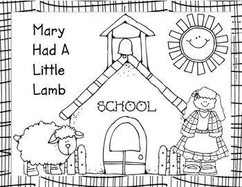45 Best Nursery Rhyme Mary Images On Pinterest