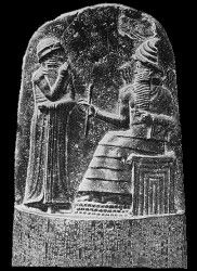 Hammurabi (also known as Khammurabi  and Ammurapi, reigned 1792-1750 BCE) was the sixth king of the Amorite First Dynasty of Babylon, assumed the throne from his father, Sin-Muballit, and expanded the kingdom to conquer all of ancient Mesopotamia.