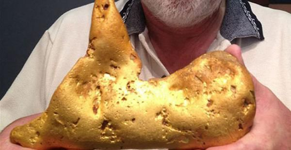 ♠ ♠  NOTICIAS INSOLITAS  ♠ ♠: Pastor de Xinjiang halla una pepita de oro de 7,85...