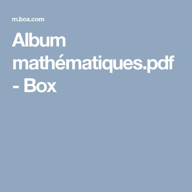 Album mathématiques.pdf - Box
