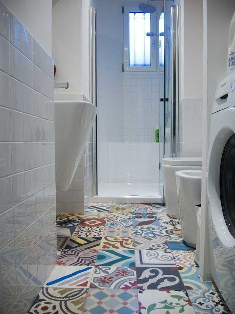 Focus on: bathroom tiles