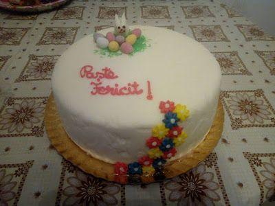 Tort si prajituri Andrea : Paste fericit!