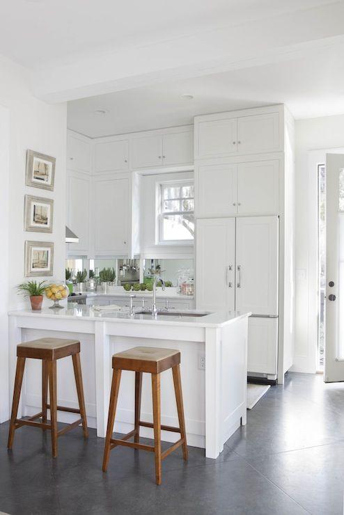 Denman Bennett Small White Kitchen