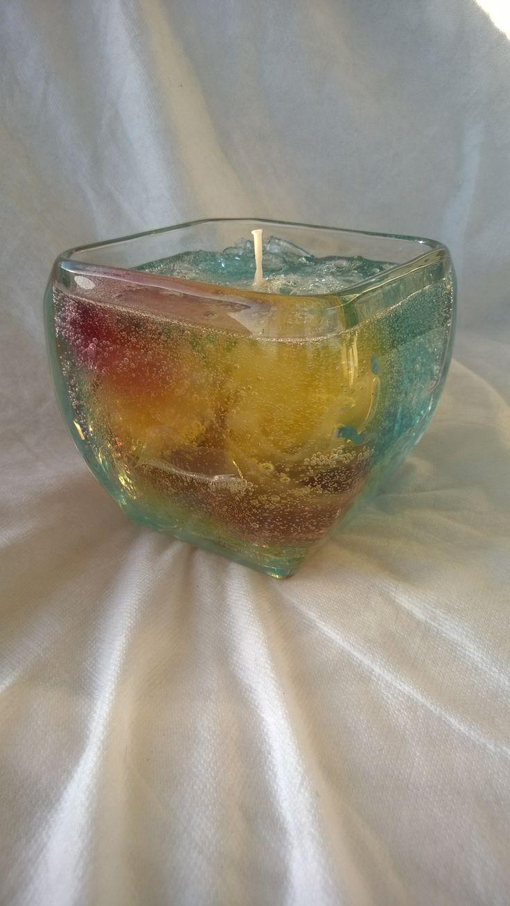 Jasmine Scented Gel Candle - $30