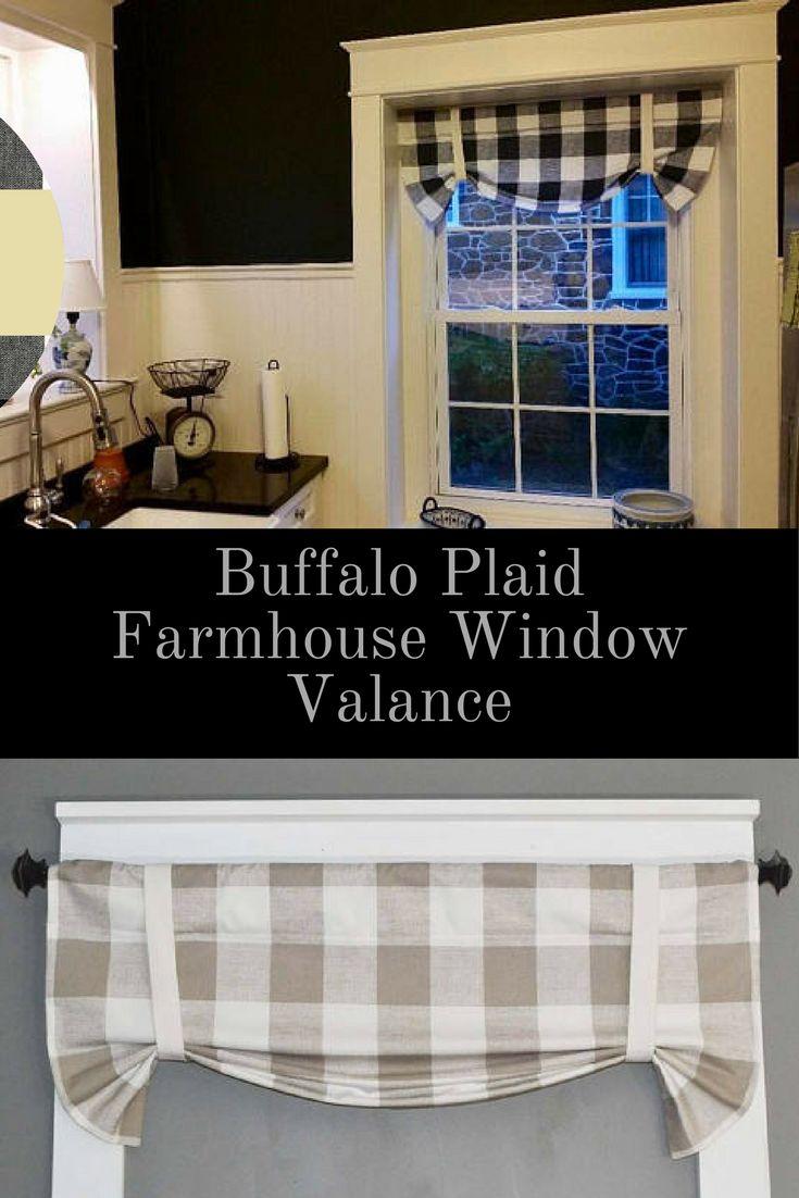 Best 25 Farmhouse Valances Ideas On Pinterest Bathroom
