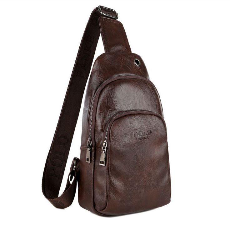 2017 New Chest Bag vintage Cross-body Shoulder Men Diagonal messenger bag