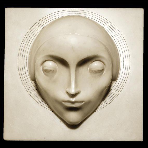 Adolfo Wildt, La Concezione - testa della madre (the head of the mother from The Conception)
