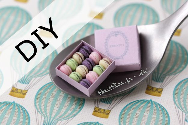 Tutoriel Macaron Miniatures Fimo - Petitplat - Stephanie Kilgast