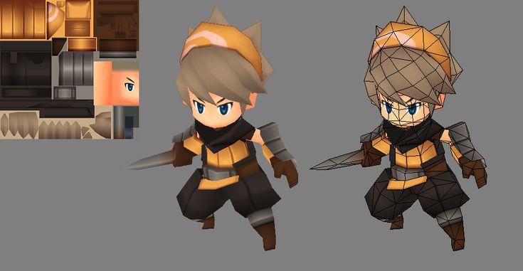 Rogue Model by EelGod.deviantart.com on @deviantART