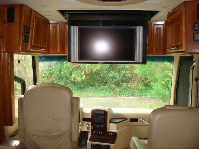 2007 Used Monaco Signature 45 NOBLE III Class A in North Carolina NC.Recreational Vehicle, rv, 2007 Monaco Signature 45 Noble III 31678 miles, Cummins ISX 600 HP, Allison MH 4000 6 Speed transmission, Jacobs engine brake, air ride suspension, auto traction control, auto air leveling, 270 amp alternator, triple head power heated mirrors w/ cameras, 12.5 KW Onan Generator on power slide-out, 2800 watt inverter, solar panel w/regulator, Collision Avoidance System, Deluxe Full Body Paint…