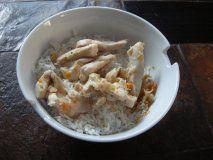 Stir-fry au poulet caramélisé - ga xao xa ot